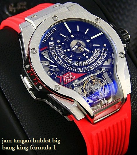 jam tangan hublot big bang king formula 1